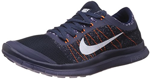 Nike Mens Free 3.0 Blue and White Running Shoes - 7.5 UKIndia (42 EU)(8.5  US)(580393-007)