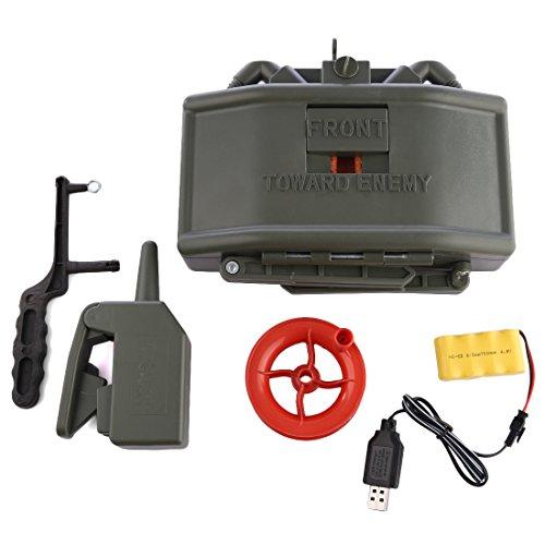 OviTop Elektrische Fernbedienung Wasserbombe Mine Spielzeug Taktische Ausrüstung für Nerf CS Spiel (Mine Airsoft)
