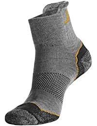 Snickers 92000700042 Coolmax Chaussettes basses Taille 40-42 Cendre Gris