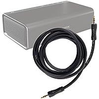 Duragadget Câble Audio pour Creative Sound Blaster Roar 2/Roar Pro et Woof 3 Enceintes Portables - 2X Prises Mâles
