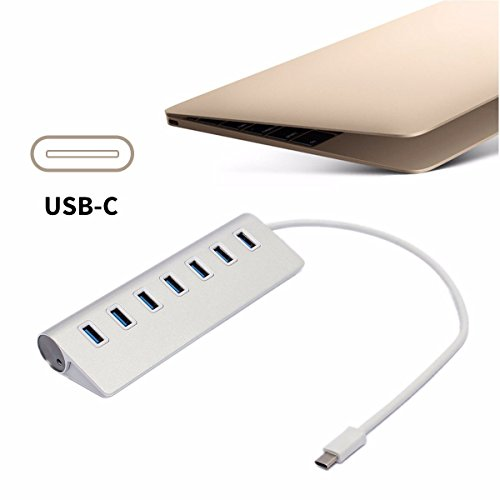onchoice-usb-30-hub-ubs-20-hub-7-ports-aluminum-datenhub-mit-netzteil-fur-windows-xp-vista-7-8-linux