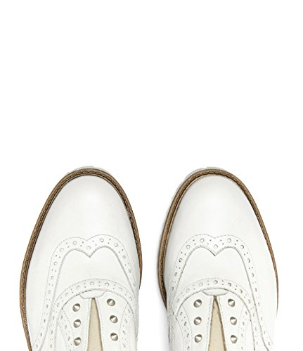 Poi lei femme budapest ines chaussures en cuir blanc weiss