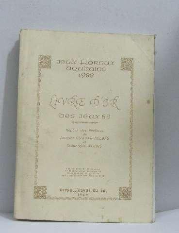 jeux-floraux-aquitains-1988-livre-dor-des-jeux-88