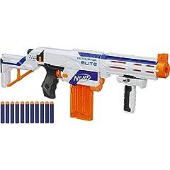 Idea Regalo - Hasbro - Pistola giocattolo Nerf N - Strike Elite, Colori assortiti