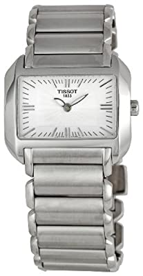Tissot T-WAVE BIG DAU T0233091103100 de cuarzo, correa de acero inoxidable color plata