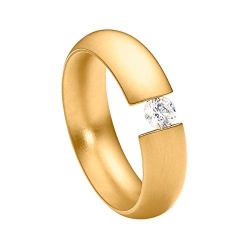 heideman ars gratia artis Pearleffects Ring Intensio Gold vergoldet DE 53 (Edelstein-schmuck-sets Echter)