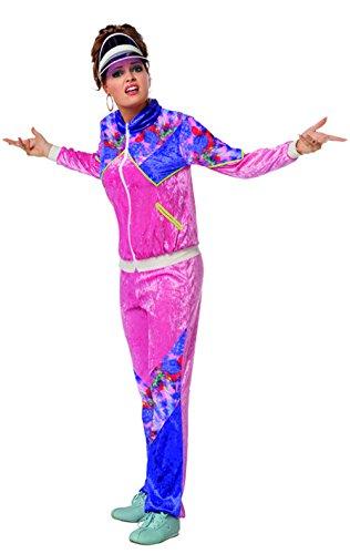 80er Jahre Overall Kostüm Damenkostüme Damen Karneval Fasching -