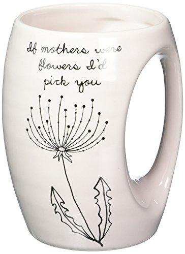 (Pavilion Gift Company 77103Dandelion Wishes Wenn Mütter Were Flowers I 'd Pick You Keramik Hand Warmer Becher, Pink)