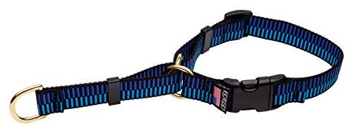 Cetacea Soft Martingale Collar with Quick Release, Step 1, Medium, Blue by Cetacea (Soft-martingal-kragen)