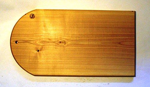 großes Brotschneidebrett/ Vesperbrett-Kirsche ca. 54,0cm x 29,0cm x 3,0cm- massiv und handgefertigt aus der Landmanufaktur Werbig -