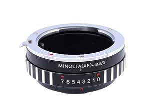 Photo Plus Adaptateur d'objectif Sony Alpha/Minolta AF pour Panasonic Lumix DMC-GH3 GH2 GH1 GF5 GF3 GF2 GF1 G10 G5 G3 G2 G1 AG-AF100
