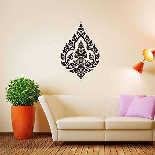 Religion Zeichen Aufkleber Guanyin Bodhisattva Wohnzimmer Schlafzimmer Wandaufkleber