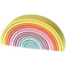 Arco íris apilable (grande) colores pasteles