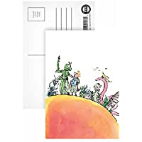 James and the Giant Peach Postcard - Postcard (Pack of 8) - Highest Quality