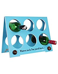 CLASSIC BLUE WINE RACK(FOLDING) BY EK DO DHAI