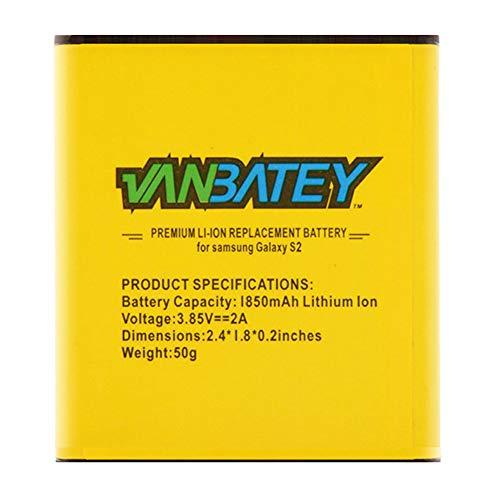 Galaxy S2 Batteria EB-F1A2G / EB-F1A2GBU interna ricambio1850mAh Li-ion con NFC per Galaxy S II S2 I9100