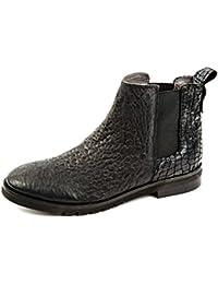 Felmini A149 White+black, Chaussures de ville à lacets pour femme - - white+black,