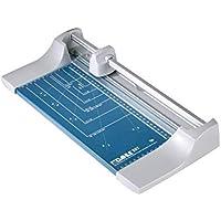 Dahle 507 Roll- und Schnitt-Schneidemaschine (Papierschneidemaschine mit einer Schnittlänge von 320 mm, bis zu DIN A4), blau
