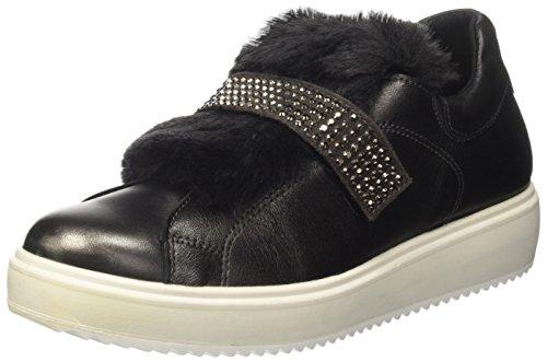 IGI&Co Damen Dhn 8799 Niedrige Sneaker, Nero (C.Fucile), 38 EU