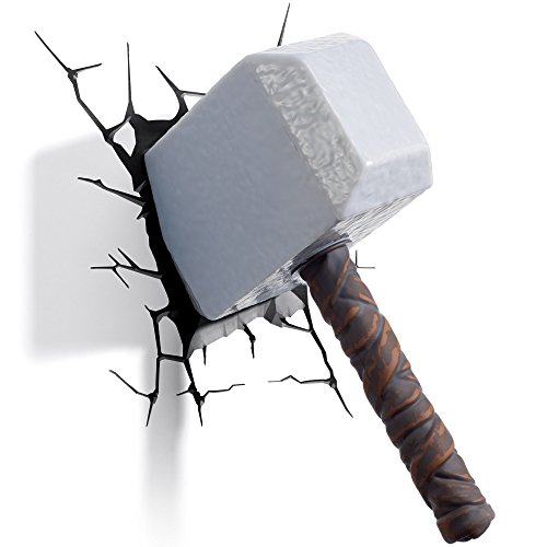 3D Thor Hammer Light (Und Thor Ironman)