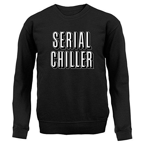 Serial Chiller - Unisex Pullover/Sweatshirt - 8 Farben Schwarz