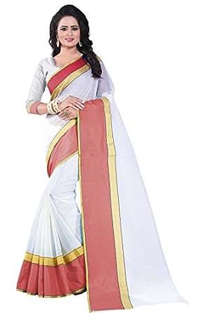 Tdc Cotton Silk Saree With Blouse Piece (Rama-01_Black_Free Size)