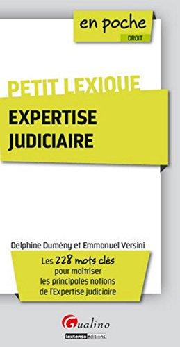Petit lexique de l'expertise judiciaire