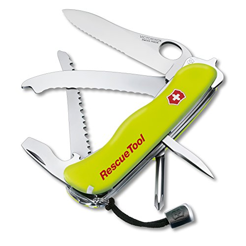 Victorinox Rescue Tool-Messer (Edelstahl) (Mason Tools)