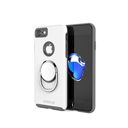 dodocool Phone Case con 360 Gradi Regolabilità Universale ruotabile anello Grip Stand Ultimate duro guscio di protezione per 4,7 pollici iPhone 7