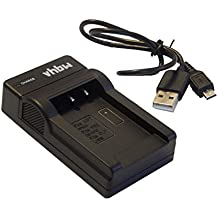 vhbw Micro USB cable de carga para cámara JVC GZ-MG130, GZ-MG131, GZ-MG135, GZ-MG140, GZ-MG150, GZ-MG155, GZ-MG175, GZ-MG255, GZ-MG275