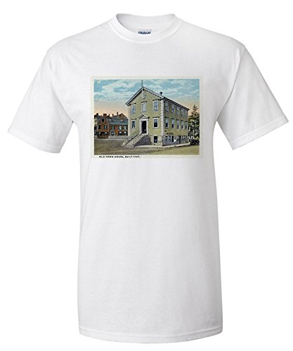 marblehead-massachusetts-exterior-view-of-the-old-town-house-premium-t-shirt