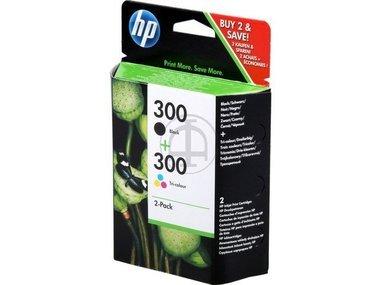 HP Original CN637EE / 300, für DeskJet F 4500 Series 2X Premium Drucker-Patrone, Schwarz, Cyan, Magenta, Gelb, 2 x 4 ml - Hp Series 2600 Drucker-tinte