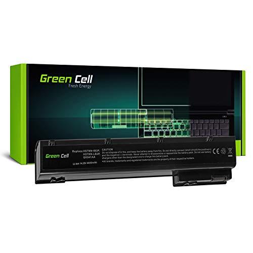 Green Cell Standard Serie VH08 VH08XL Laptop Akku für HP EliteBook 8560w 8570W 8760w 8770w (8 Zellen 4400mAh 14.8V Schwarz) -