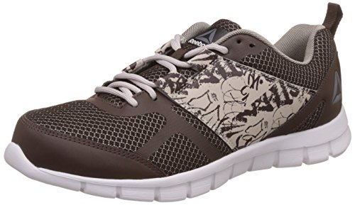 Reebok Men's Speed Xt Earth/Sandstone/Tonal/Slv Running Shoes - 10 UK/India (44.5 EU)(11 US)