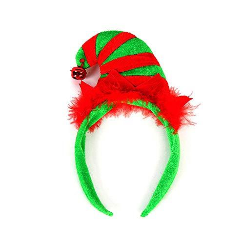 Kostüm Männer Jubel - Geggur Rentiergeweih Stirnband,Geweih Stirnbänder Haarband Kopfbedeckung Rentier Plüschtier Weihnachtsfeier Kostüm Neuheit Maskerade Haarschmuck,Haarbänder Stirnband für Karneval