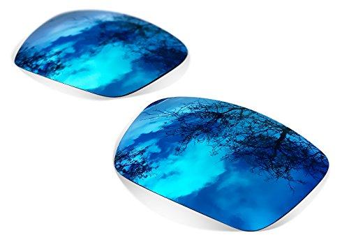 sunglasses restorer Kompatibel Ersatzgläser für Oakley Eyepatch 2 & 1 (Polarisierte Ice Blue Linsen)
