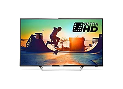 Philips 43PUS6162/05 43-Inch 4K Ultra HD Smart TV with HDR Plus/Freeview Play