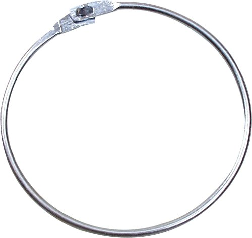 , Silber, One Size (Fußball Ring)
