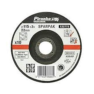 Black+Decker X32775-QZ – 10 discos de corte para metal 115 mm