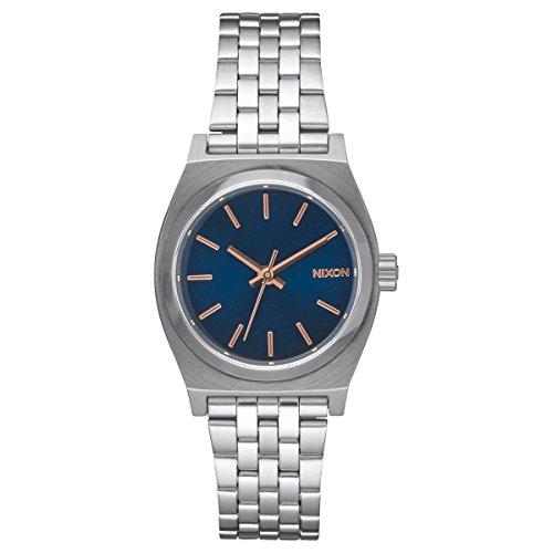 nixon-donna-orologio-da-polso-al-quarzo-in-acciaio-inox-smal-time-teller-a399-2195-00