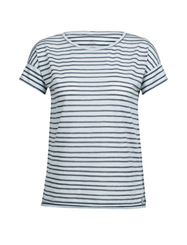 Icebreaker Women's Aria Short Sleeve Scoop Pulled Lines First Layers
