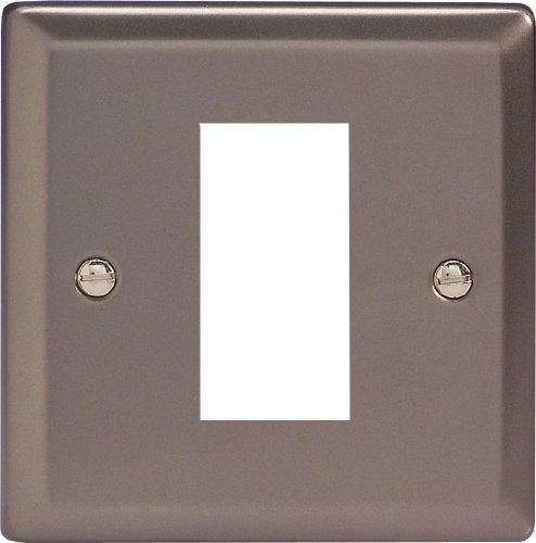 varilight-data-grid-face-plate-for-1-data-module-width-pewter-finish-xrg1