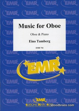 MARC REIFT TAMBERG EINO - MUSIC FOR OBOE OP.35 (1970) - OBOE & PIANO Klassische Noten Oboe