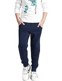 DianShao Pantalón Largo De Chándal para Niño Cintura Elástico Impreso Casual  Pantalones 837f190a3ccd