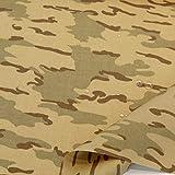 TOLKO Wüsten Camouflage Stoff | Wasserdicht reißfest und