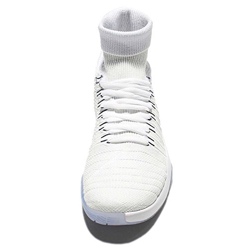 Nike Hyperdunk 2016 Fk, Scarpe da Basket Uomo Blanco (White / Dark Obsidian-Bright Crimson)