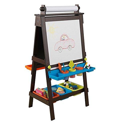 g Design Holz Aufbewahrung Kunst Staffelei in Espresso für Kinder 3Jahren bis (Elf Auf Dem Regal Erwachsenen)