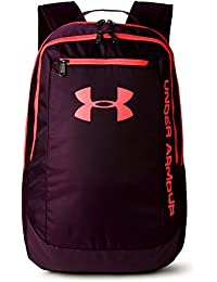 Under Armour UA Hustle Backpack LDWR Mochila, Hombre, Rojo (564), One Size
