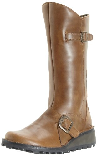 FLY London Mes, Bottes Chukka Femme Marron (Camel 056)
