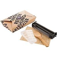 Reishunger Sushi Equipment Box (mit Easy Sushi Maker Ø 3,5 cm) Maki, Inside-Out und Nigiri Sushi zu Hause zubereiten – perfekt auch als Geschenk